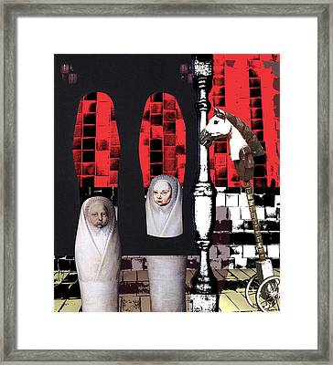 His First Commitment Framed Print