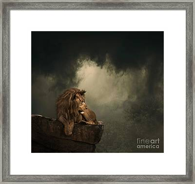 His Kingdom Framed Print by Lynn Jackson