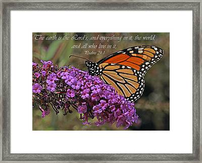 His Marvelous Touch Framed Print by Melanie Melograne