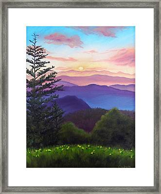 His Mercies Are New Every Morning Framed Print by Joan Swanson