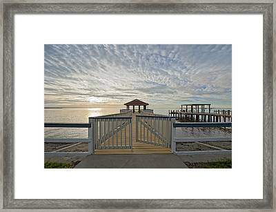 His Mercies Begin Fresh Each Morning Framed Print