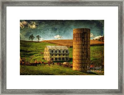 His Pride And Joy Framed Print