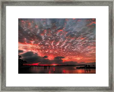 His Signature Framed Print by Karen Wiles