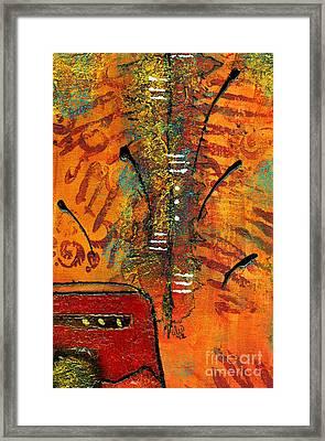 His Vase Framed Print by Angela L Walker