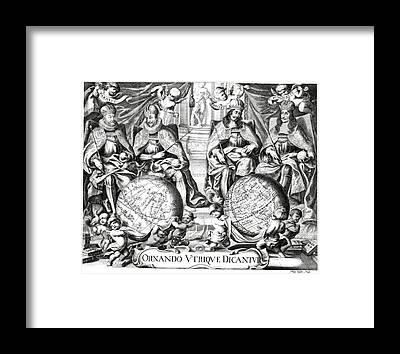 Historia Framed Prints