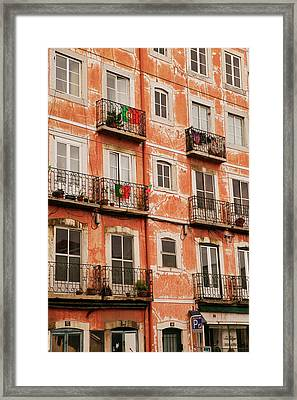 Historic And Popular Tourist Area Framed Print