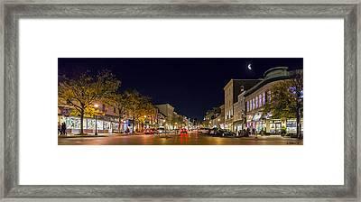 Historic Annapolis - Pano Framed Print