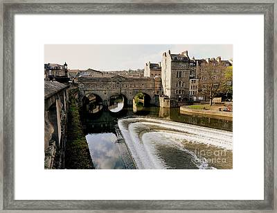 Historic Bath Framed Print