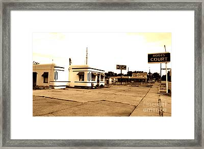 Framed Print featuring the photograph Historic Boots Court by Utopia Concepts