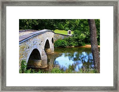 Historic Burnside Bridge Framed Print