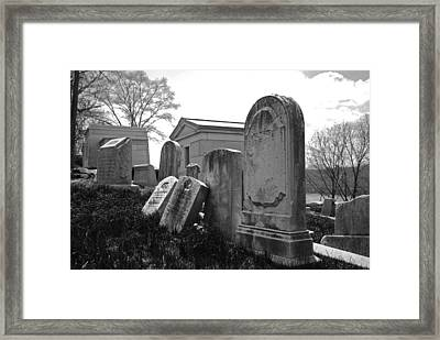 Historic Cemetery Framed Print