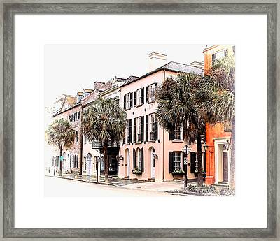 Historic Charleston Framed Print