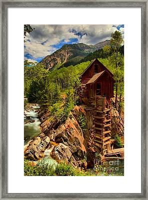 Historic Colorado Framed Print by Adam Jewell