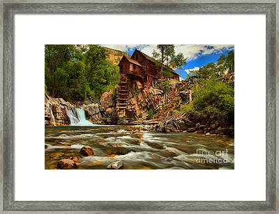 Historic Colorado Landscape Framed Print by Adam Jewell