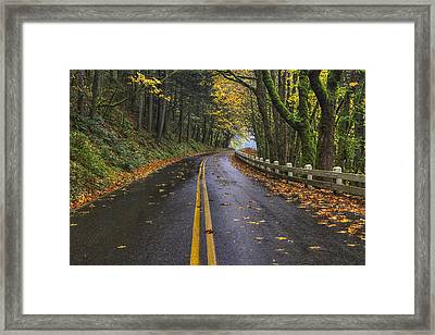 Historic Columbia River Highway Framed Print