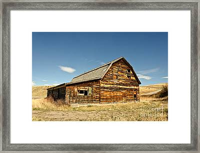 Framed Print featuring the photograph Historic Community Hall by Sue Smith