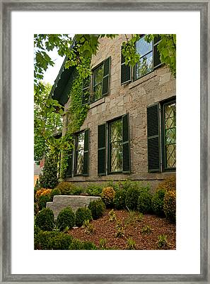 Historic Concord Home Framed Print