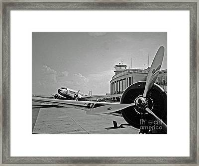 Historic Eastern Airlines Dca Framed Print by Jost Houk