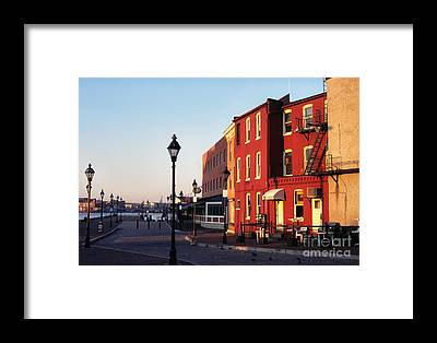 Fells Point Baltimore Maryland Framed Prints