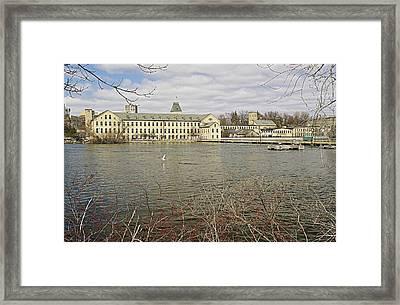 Historic Fox River Mills Framed Print