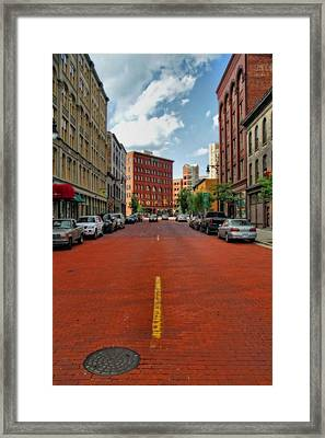 Historic Grand Rapids Michigan Framed Print