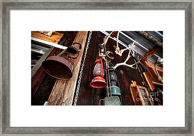 Historic Harney County Oregon Homestead Framed Print by Michele AnneLouise Cohen