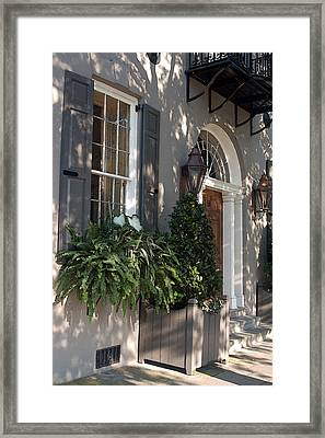Historic Home - Charleston Framed Print