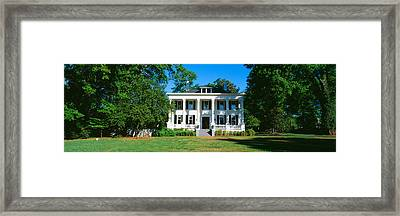 Historic Home In Madison, Georgia Framed Print by Panoramic Images