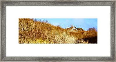 Historic Home On A Landscape, Whidbey Framed Print by Panoramic Images