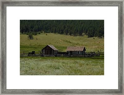 Historic Homestead Framed Print