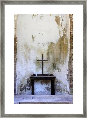 Framed Print featuring the photograph Historic Hope by Laurie Perry