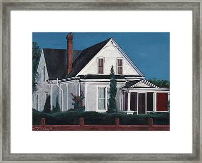 Historic House  Framed Print