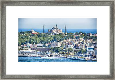 Historic Istanbul Framed Print by Stephen Stookey