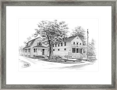 Historic Jaite Mill - Cuyahoga Valley National Park Framed Print