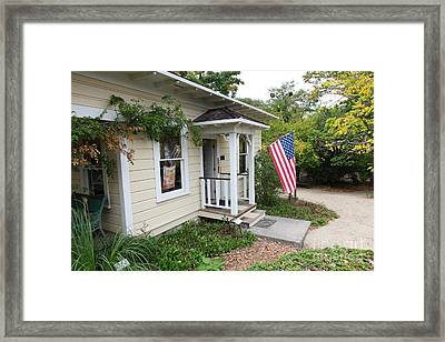 Historic Luther Burbank Cottage And Farm Sebastopol California 5d25919 Framed Print