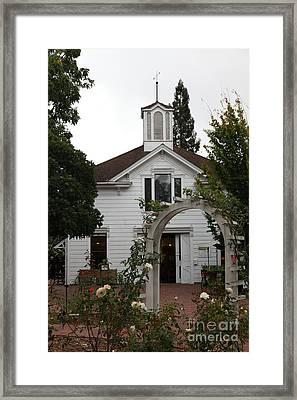 Historic Luther Burbank Home And Gardens Santa Rosa California 5d25895 Framed Print
