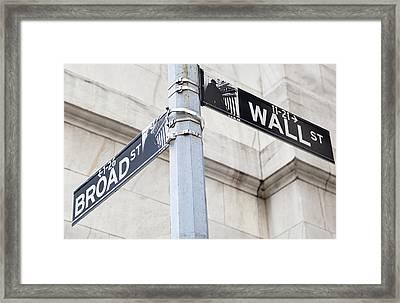 Historic Manhattan Framed Print