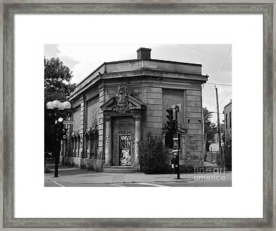 Historic Molson Bank St Henri Framed Print