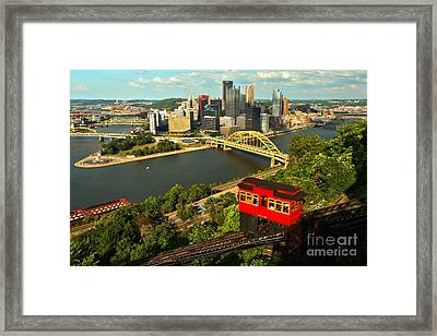 Historic Duquesne Incline Framed Print