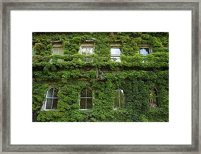 Historic Northern Club Building Covered Framed Print by David Wall