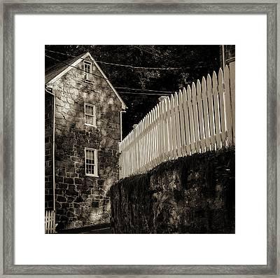 Historic Oella S Curve Framed Print