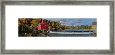 Historic Panorama Framed Print by Lanis Rossi
