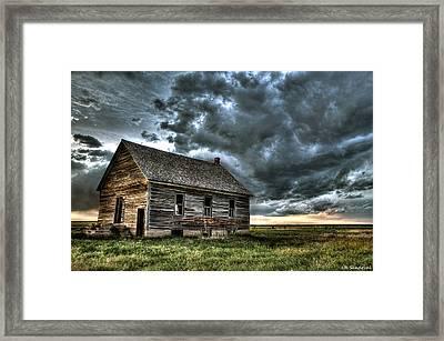 Historic Presence Framed Print