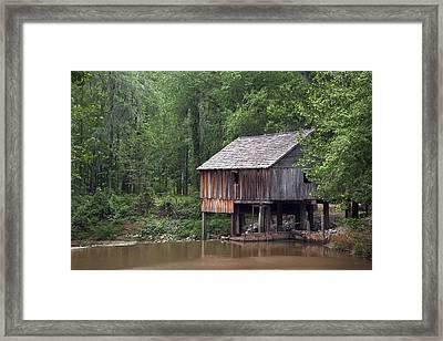 Historic Rickard's Mill Near Beatrice Framed Print by Carol M Highsmith