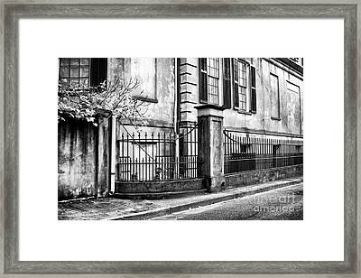 Historic Savannah Framed Print by John Rizzuto