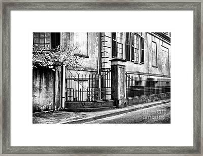 Historic Savannah Framed Print