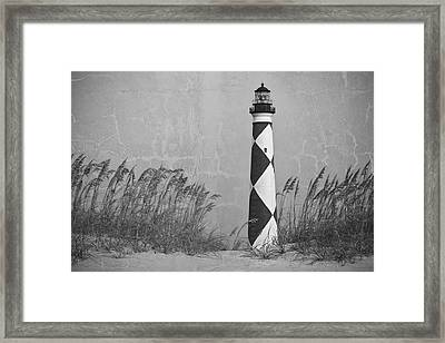 Historic Sentinel Of The Coast Framed Print