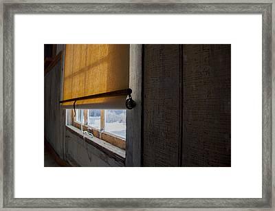 Historic Shades  Framed Print by Fran Riley