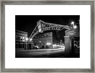 Historic Shoe Polish Framed Print by Randy Scherkenbach