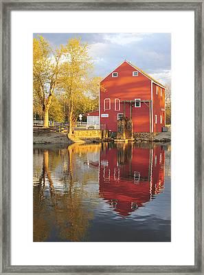 Historic Smithville Shop New Jersey Framed Print